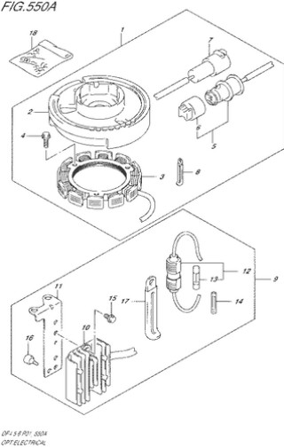 выпрямитель зарядка Сузуки DF4-5-6 лс