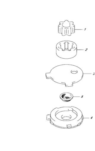 масляный насос Сузуки DF4-5-6 лс