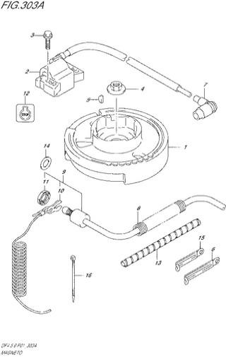 ротор статор Сузуки DF4-5-6 лс