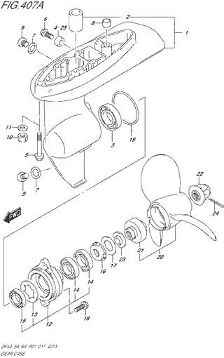 редуктор топливная система для Сузуки DF4a-5a-6a л.с