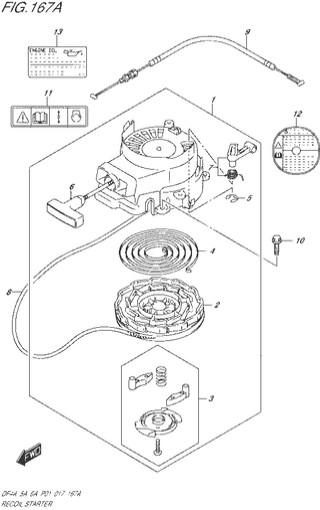 ручной стартер топливная система для Сузуки DF4a-5a-6a л.с