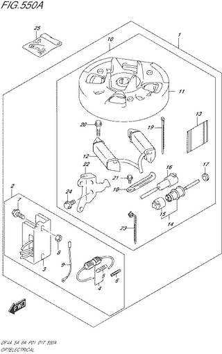 система зарядки / опция / топливная система для Сузуки DF4a-5a-6a л.с