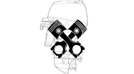 Запчасти, узлы, каталоги для лодочных моторов