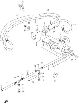 Каталог запчастей для лодочных моторов Suzuki DF30 / DF30R / DF30Q / DF30T (S/L) – Год: 2000 - 20**;  Моторы от: S/№ 03001F-030001~ до 03001F-***001~