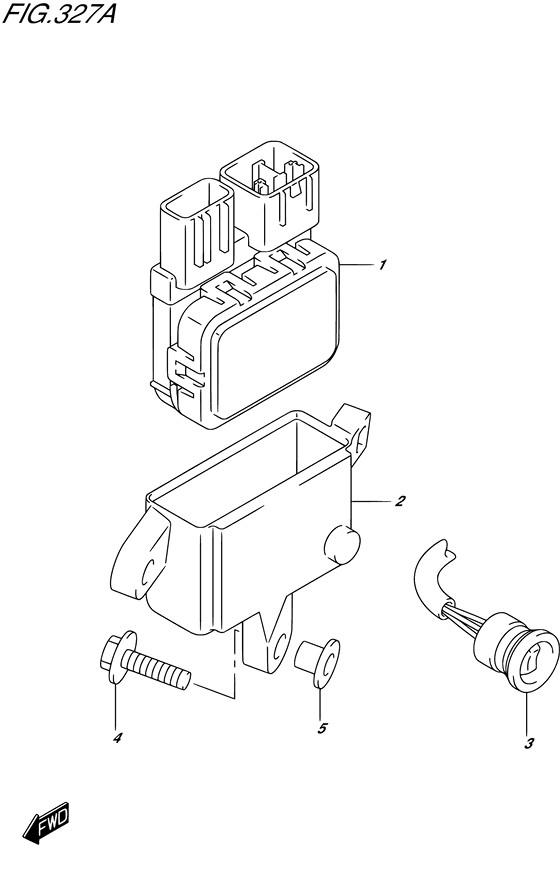 Блок управления PTT (DF9.9BT) / BE / BR / BT , Год: от 2013 - до 2015; Двигатель от: 00995F-310001~ до 00995F-510001~ / (4-х тактный; Мощность 9.9)